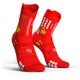 Compressport Pro Racing V3.0 Trail juoksusukat , punainen